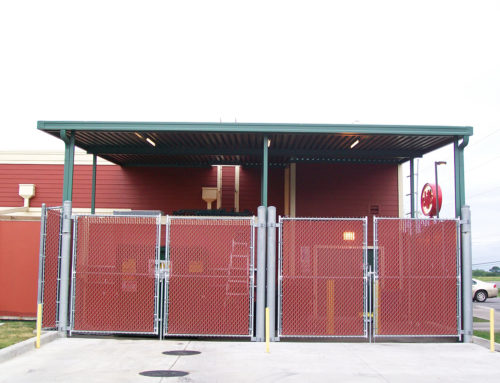 Dumpster and Equipment Canopies