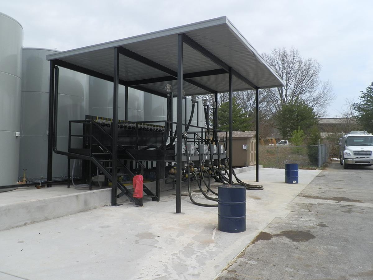 Dumpster And Equipment Canopies Altek Aluminum