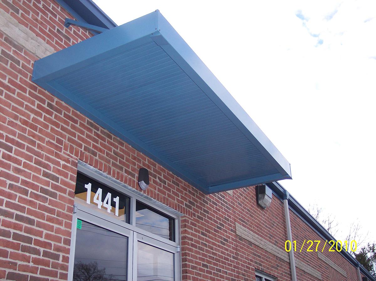 Extruded Canopies Altek Aluminum
